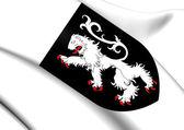 Aosta Valley Coat of Arms, Italy.  — Stock Photo