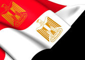 President of Egypt Standard — Stock Photo