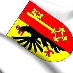 Geneva Coat of Arms, Switzerland. — Stock Photo #45256731