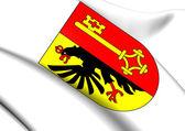 Geneva Coat of Arms, Switzerland.  — Stock Photo