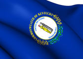 Vlajka kentucky, usa. — Stock fotografie