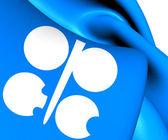 Bandiera dell'opec — Foto Stock