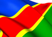 Flag of South West Africa National Union — Stock Photo