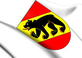 Bern Canton Coat of Arms, Switzerland.  — Stock Photo