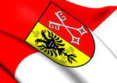 Flag of Minden, Germany.  — Stock Photo