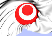 Symbol of Okinawa Prefecture, Japan.  — Stock Photo