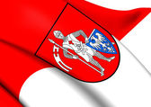 Flag of Bamberg, Germany.  — Stock Photo