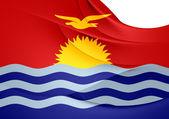Flag of Kiribati — Stock Photo