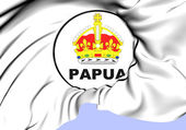 Territory of Papua Seal (1906-1949) — Stock Photo