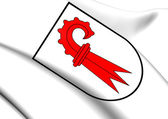 Basel-Landschaft Coat of Arms, Switzerland.  — Stock Photo