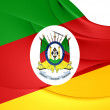 Flag of Rio Grande do Sul, Brazil. — Stock Photo #46057033