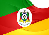 Flag of Rio Grande do Sul, Brazil.  — Stock Photo