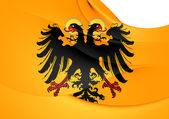 Flag of Holy Roman Empire (1400-1806) — Stock Photo