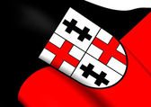 Flag of Merzig, Germany.  — Stock Photo