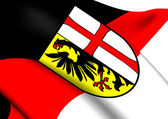 Flag of Memmingen, Germany.  — Stock Photo