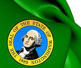 Flag of Washington State, USA.  — Stock Photo