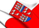 Flag of Zwickau, Germany.  — Stock Photo