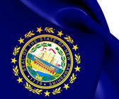 Flag of New Hampshire, USA.  — Stock Photo