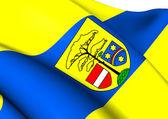 Flag of Hohen Neuendorf, Germany.  — Stockfoto