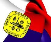 Flag of Memphis, USA.  — Stock Photo