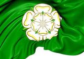 Flag of North Yorkshire, England.  — Stock Photo