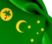 Flag of Cocos Islands — Stock Photo