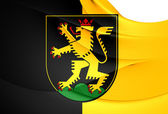 Flag of Heidelberg, Germany.  — Stock Photo