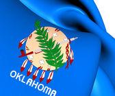 Flag of Oklahoma, USA.  — Stock Photo
