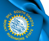 Flag of South Dakota, USA.  — Stock Photo