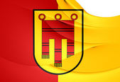 Flag of Tubingen City, Germany.  — Stock Photo