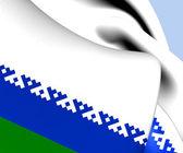 Flag of Nenets Autonomous Okrug, Russia.  — Stock Photo
