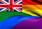 United Kingdom Gay Flag — Stock Photo