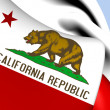 Flag of California, USA. — Stock Photo