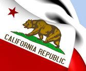 Flag of California, USA.  — Stock Photo
