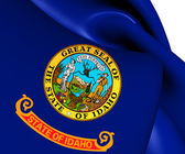 Flag of Idaho, USA.  — Stock Photo