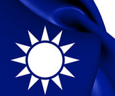 Naval Jack of Taiwan — Stock Photo