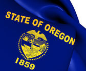 Flag of Oregon, USA.  — Stock Photo