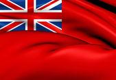 British Red Ensign — Stock Photo