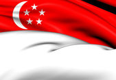 Flag of Singapore — Stockfoto