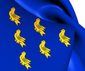 Flag of Sussex — Stock Photo