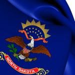 Flag of North Dakota, USA. — Stock Photo #47778051