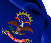 Flag of North Dakota, USA.  — Stock Photo