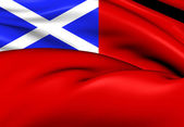 Scottish Red Ensign — Stock Photo