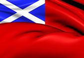 Scottish Red Ensign — Stock Photo