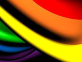 Flag of LGBT — Stock Photo