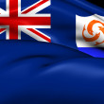 Flag of Anguilla — Stock Photo #47972467