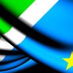 Flag of Mato Grosso do Sul, Brazil. — Stock Photo
