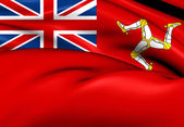 Isle of Man Civil Ensign — Stock Photo