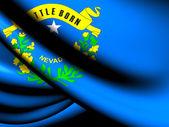 Flag of Nevada, USA. — Stock Photo