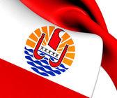 Flag of French Polynesia — Stock Photo